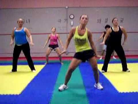 Excellent at home workout video series! (Zumba with Amber - Tik Tok Kesha feat. P Diddy) ...  Many more as well