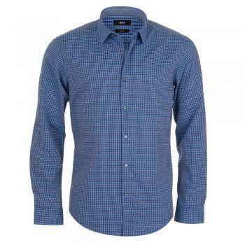 Hugo Boss Nemos 2 Shirt - Blue Check