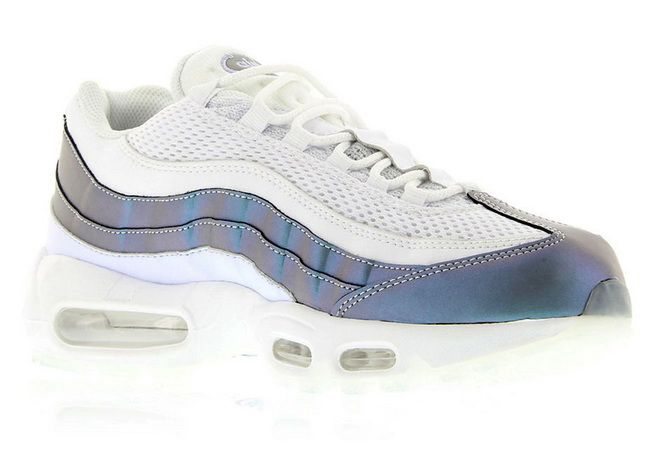 quality design 18968 fac78 Nike Air Max 95 Iridescent Glacier Blue Palest Purple White Stealth  538416401 Fashion Sneaker