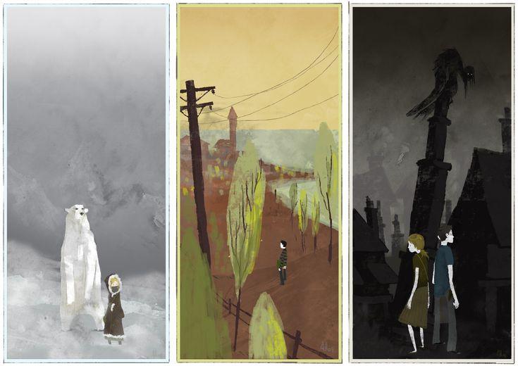 His Dark Materials Trilogy - very good summer reading - well, any season really!