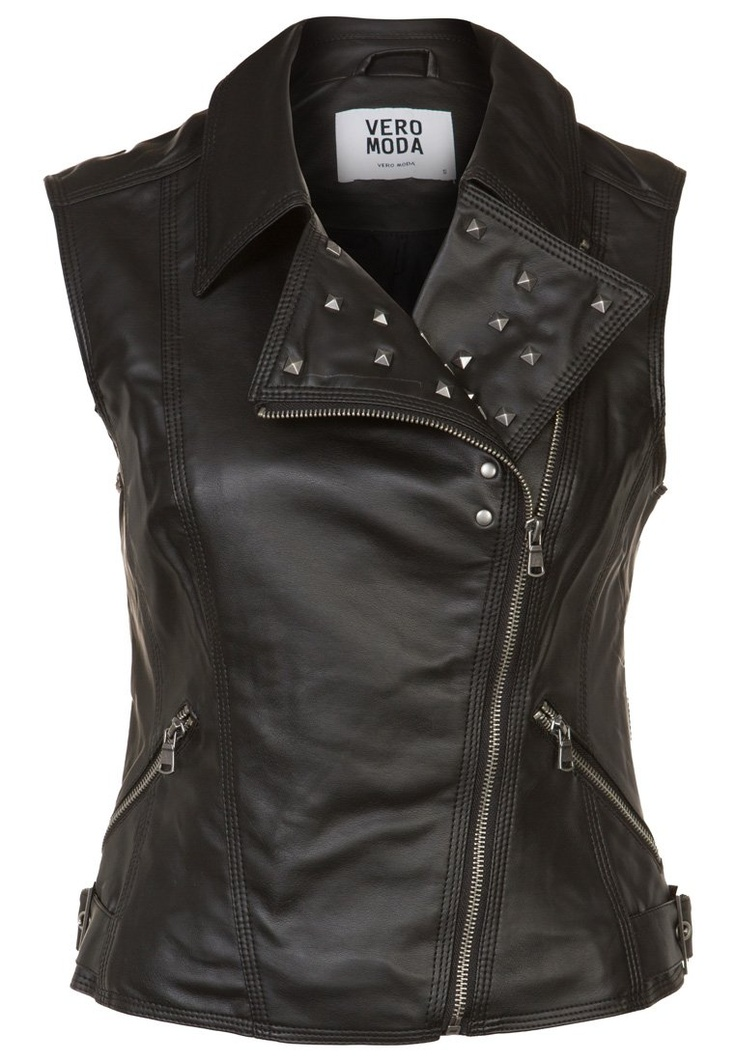 Vero Moda - BIANCA - Waistcoat - black