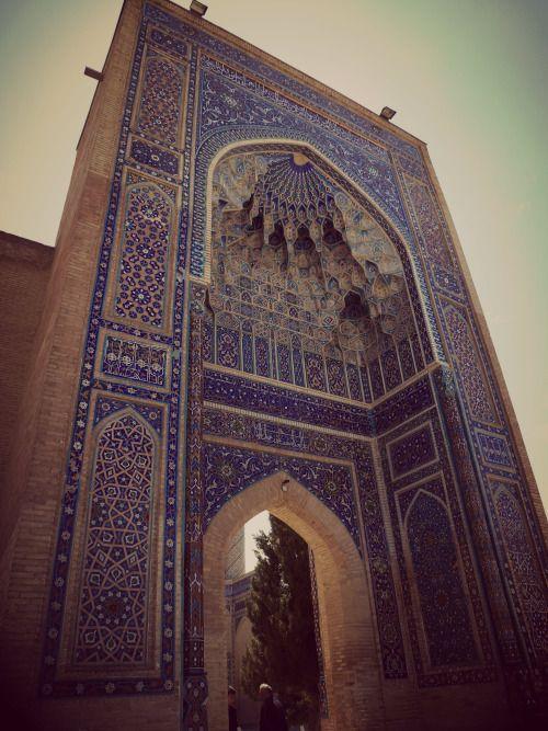 Uzbekistan - Tamerlan's tombstone in Samarkand