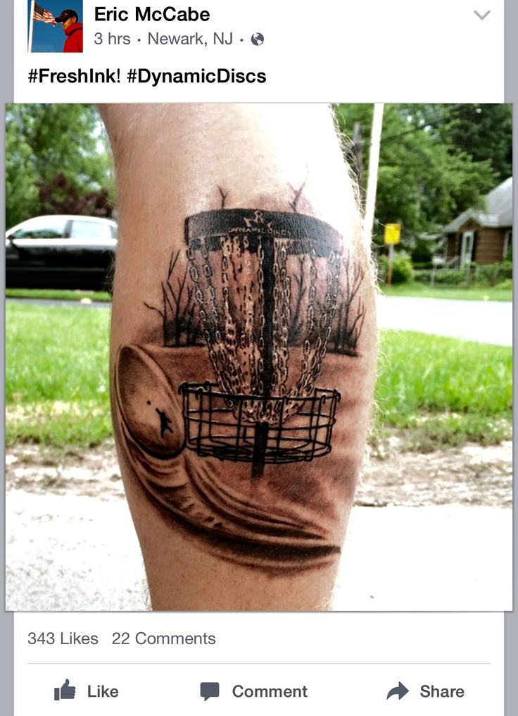 17 best disc golf tattoos images on pinterest golf tattoo disc golf and tattoo ideas. Black Bedroom Furniture Sets. Home Design Ideas