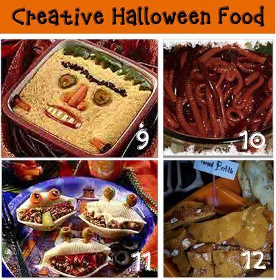 halloween party food not sweet