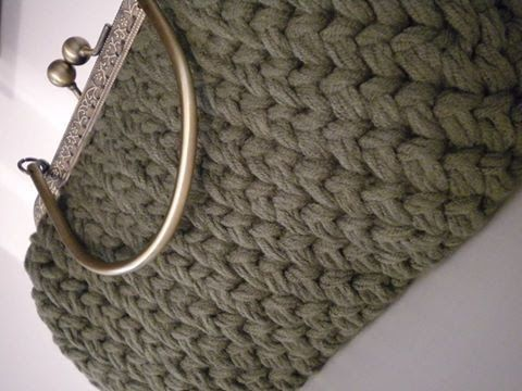 Tutorial Uncinetto/Crochet: fondo ovale per borse - YouTube
