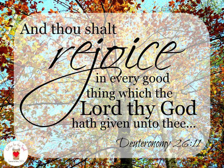 Deuteronomy 26:1 – 27:26 Luke 10:38 – 11:13 Psalms 76:1 – 12 proverbs 12:15 – 17