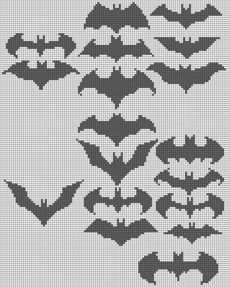 Batman Alpha Pattern #16071 Preview added by adelabats