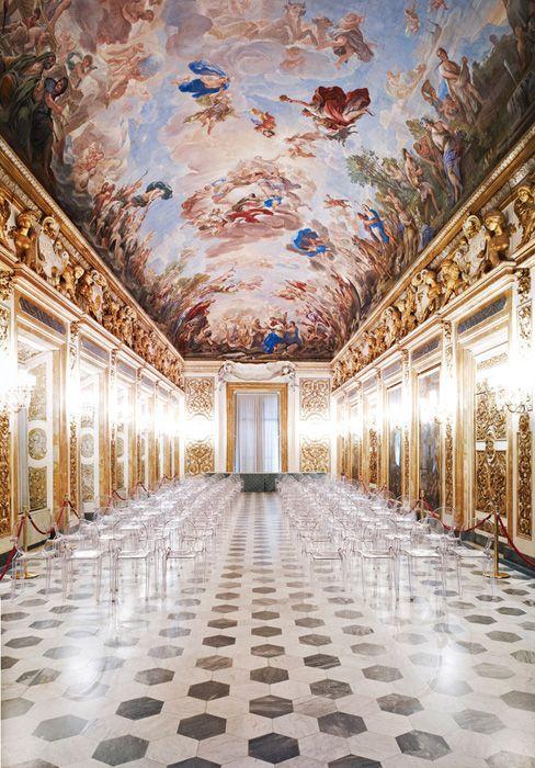 Palazzo Medici-Riccardi - Sala degli specchi - decorata da Luca Giordano.
