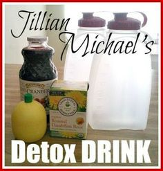 How to Make Jillian Michael's Detox Drink to Lose Weight. Having a body free from toxins will help you live a longer and healthier life that's full of energy and positivity. Regular detoxification will ensure that you will get the most out of your vigor and keep you prepared for the daily toils of life.
