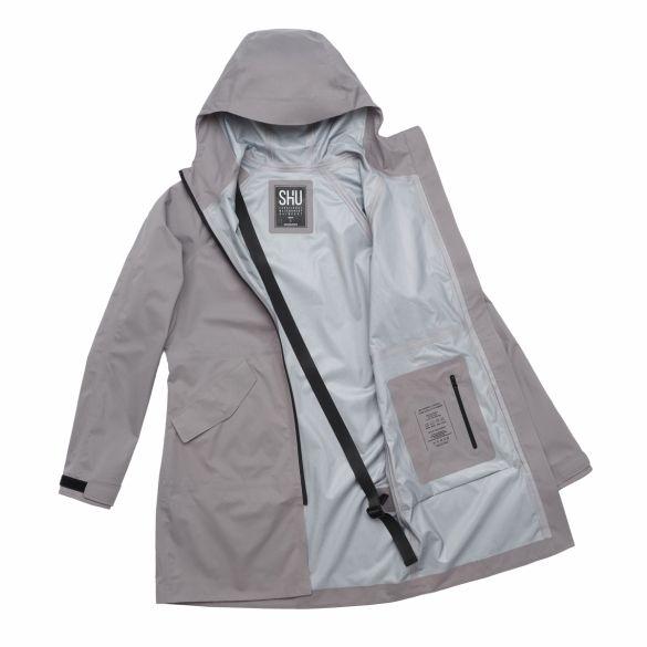 Непромокаемый плащ SH'U 2.0 серый