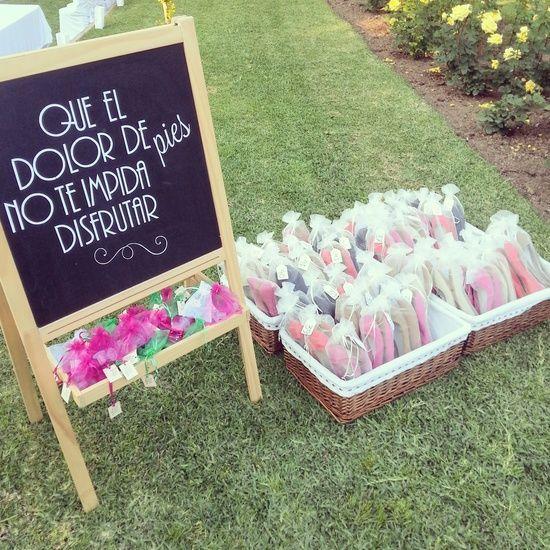 Genial idea para obserquiar a tus invitados. ¡Les encantará! #boda invitados