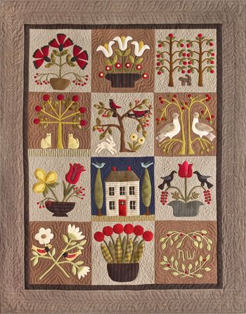 At Home in the Garden, Timeless Traditions Quilts by Norma Whaley