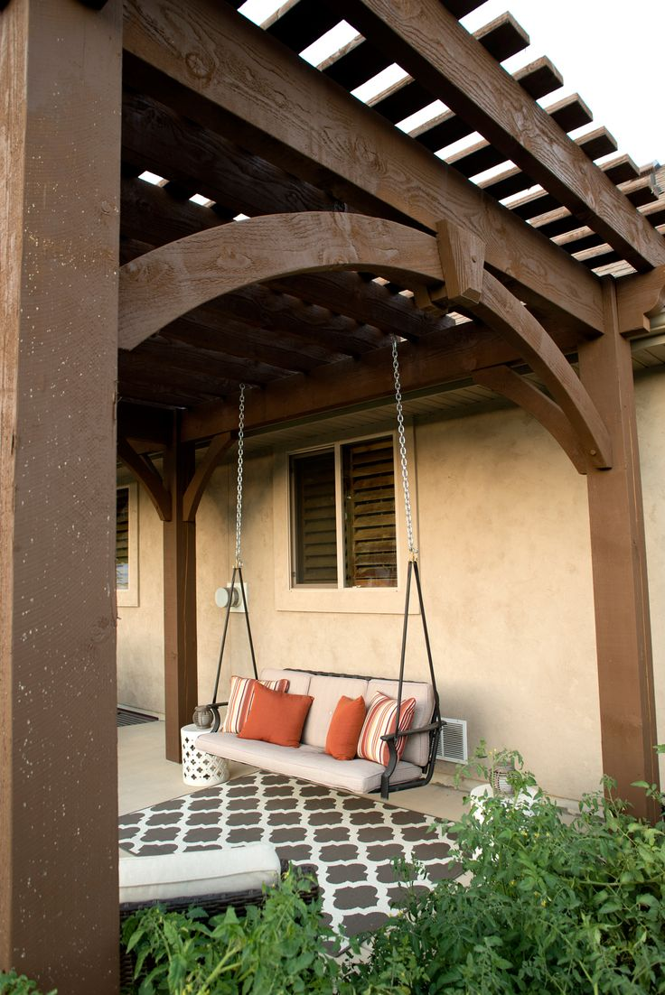 Diy Pergola Kits : Free standing diy timber frame pergola kit installed over