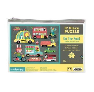 Kids Toys to You | On the Road - 12 piece pouch puzzle - PUZZLES Puzzle comes in a handy zip-lock pouch for easy storage. $19 www.kidstoystoyou.com.au