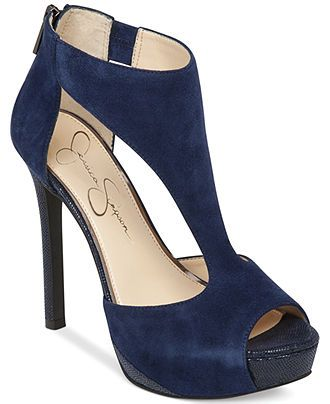 Jessica Simpson Carideo T-Strap Platform Pumps - Jessica Simpson - Shoes - Macy's