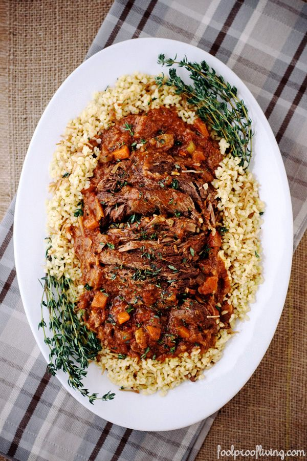 Company pot roast recipe ina garten roast recipes and Barefoot contessa recipes
