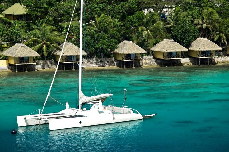 Waterfront Fares, Iririki Island Resort.