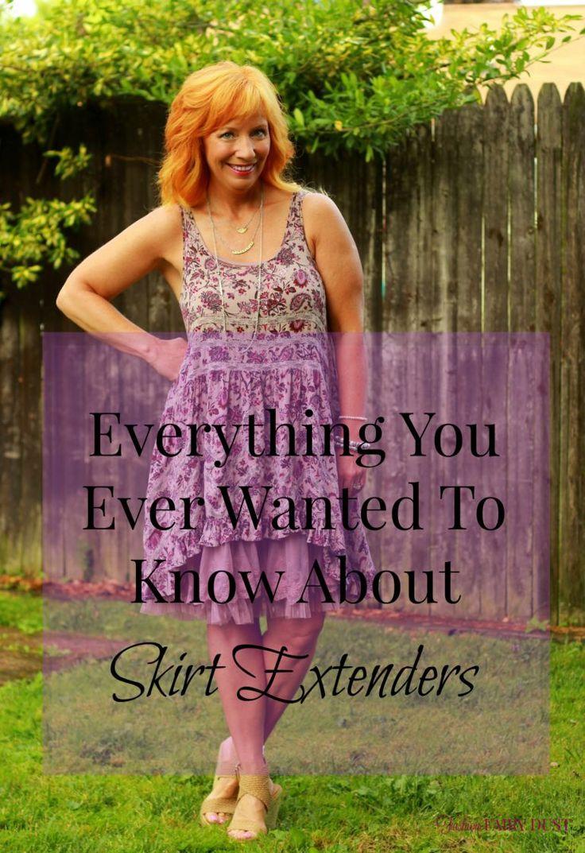 Mejores 85 imágenes de Skirt Extenders en Pinterest | Falda, Blusas ...