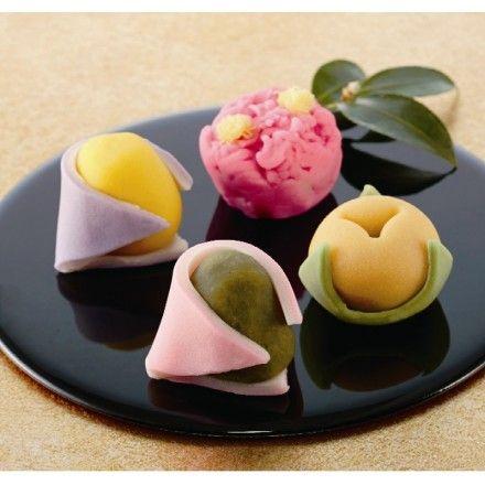 Japanese Sweets, 森八 季節の上生菓子