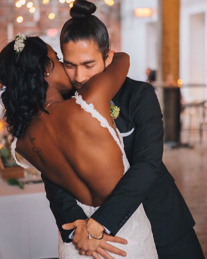 My wedding day was magical. Photos from @ErikaLaynePhoto #katiemay #multicultural #family #biraciak
