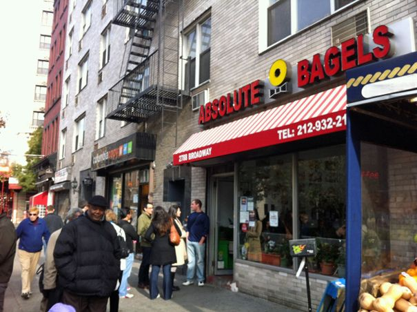 Absolute Bagels, NYC by The Amateur Gourmet, via Flickr