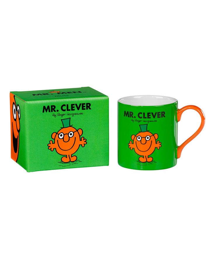 Look what I found on #zulily! 'Mr. Clever' Coffee Mug by Mr. Men Little Miss #zulilyfinds