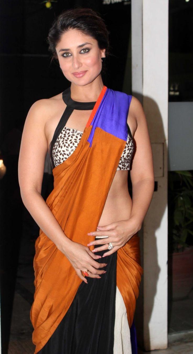 Kareena Kapoor Latest Hot Photos in Yellow Saree - Tollywood Stars