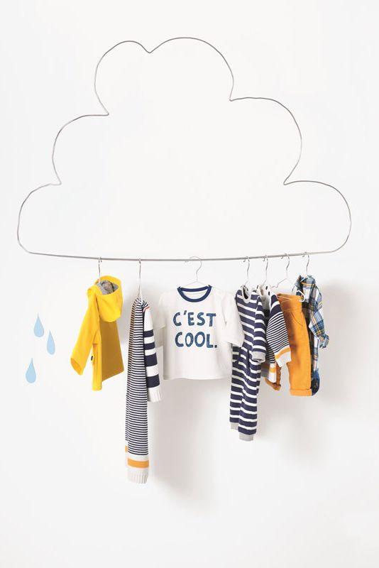 Ensure your baby is c'est cool with clothes for rainier days. More