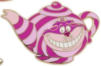 Disney pin Cheshire Cat Teapot