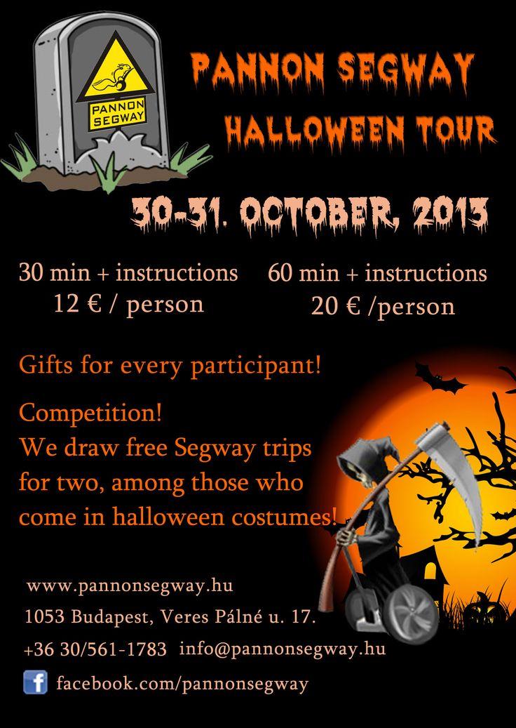 Halloween Segway Tours!