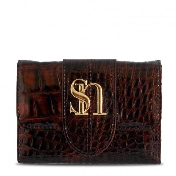 Susan Nichole Vegan Wallet Style #111 - Alyssa Wallet in Brown