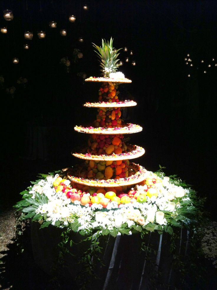 Wedding Flowers Cake
