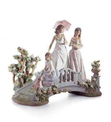 Another Valencia Lladro Porcelain Figurine