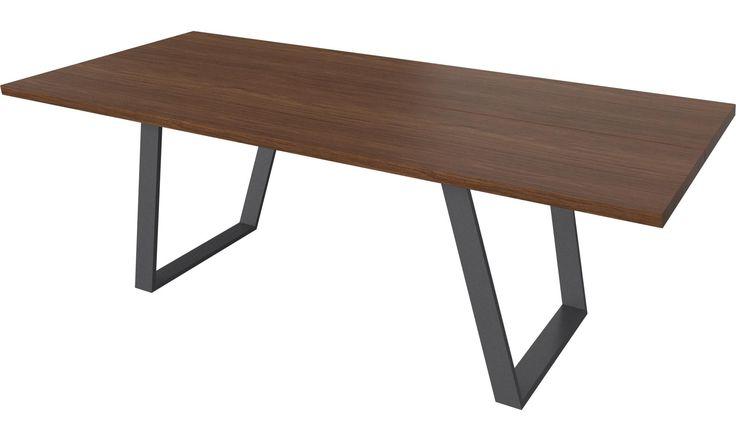 Обеденные столы - стол Ванкувера с дополнительной столешницей - BoConcept