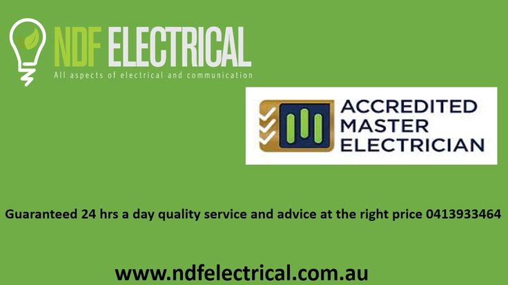 Looking for an electrician on the Gold Coast? NDF Electrical trusted full service electrical contractor company on the Gold Coast. Our services are charged competitively and ensure all requisite safety standards, and are fit for both commercial and domestic environments. Read More: http://www.ndfelectrical.com.au/