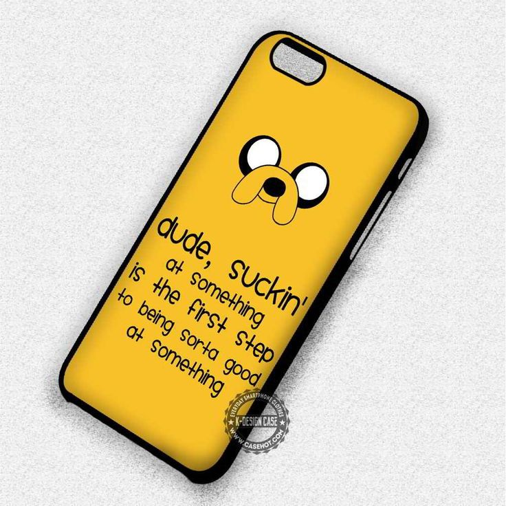 Quote Adventure Time BMO Cartoon  - iPhone 7 6 5 SE Cases & Covers