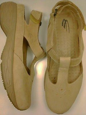 SPIRA WAVESPRING MIA Walking Shoes Size 11 Tan Beige MARY JANE T-STRAP SST112 auc