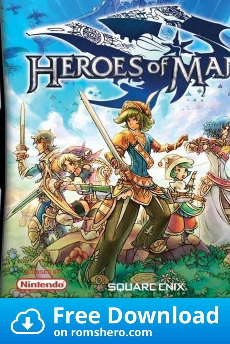Download Heroes Of Mana Nintendo DS (NDS) ROM in 2020