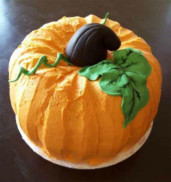 Halloween Party Ideen – tolle Kuchen in Kürbisform -