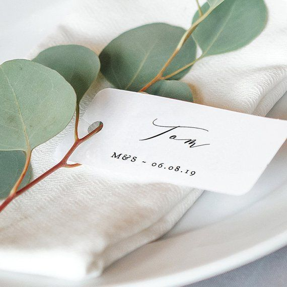 small wedding place name cards small name tags