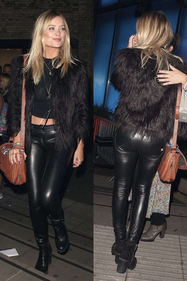 Celebrities in Leather Pants – How Celebrities Wear ...