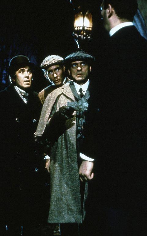 Peter Butterworth, Jim Dale, Harry H Corbett & Bernard Bresslaw in Carry On Screaming!