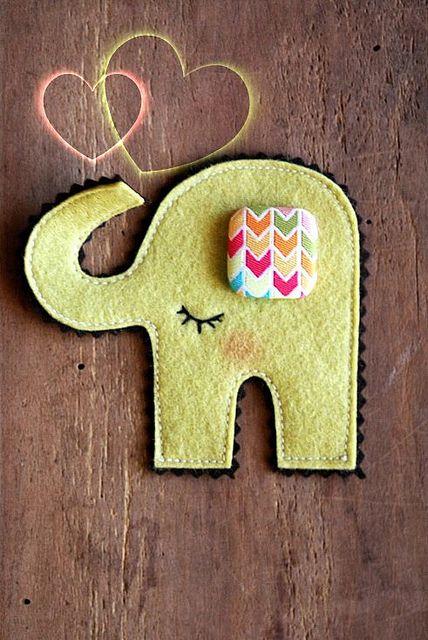 Dreamy Elephant by made by agah, via Flickr
