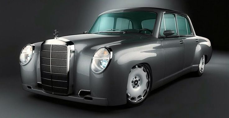 Mercedes Benz GWA 219 Custom.