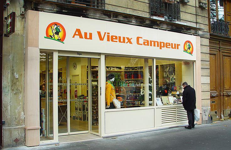 paris vieux campeur - Google Search