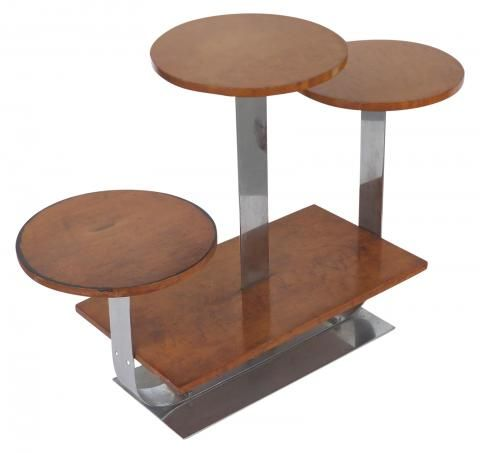 art deco furniture style. asymmetrical american art deco stand style donald deskey modernism furniture