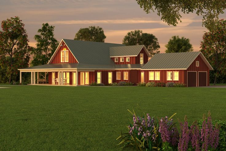 Farmhouse Style House Plan - 3 Beds 2.5 Baths 3038 Sq/Ft Plan #888-1 Exterior - Other Elevation - Houseplans.com