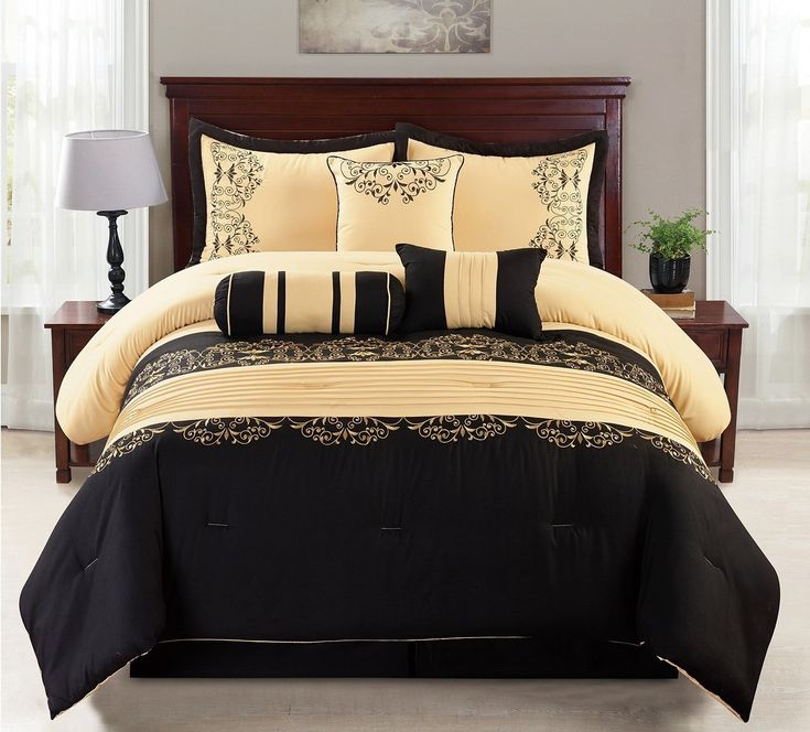 Best 25 Black Comforter Sets Ideas On Pinterest Black