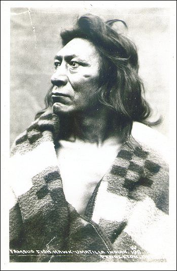 Fish Hawk of the Umatilla Tribe of Eastern Oregon.