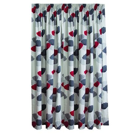 Living & Co Limited Edition Curtains Piper Chilli Large 160cm Drop - Promotional - Curtains - Curtains & Blinds - The Warehouse